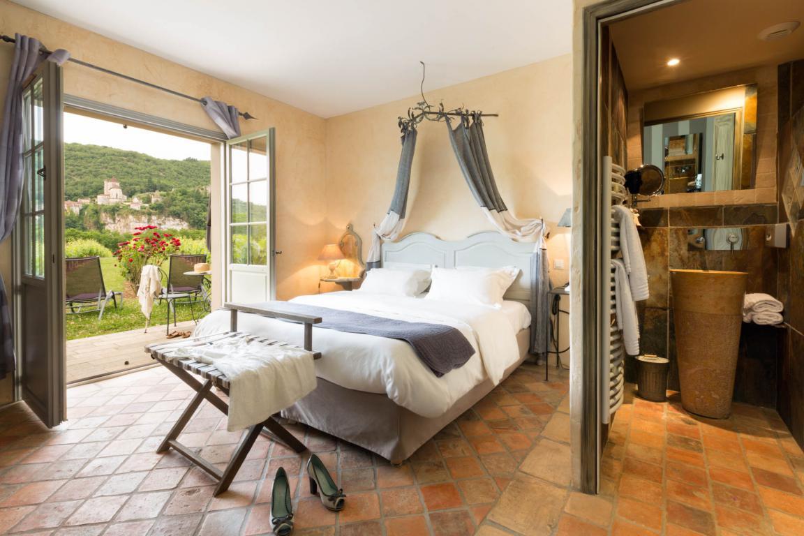 Chambres Saint-Cirquoises côté vigne